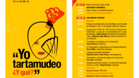 Jornada Técnica del XIII Encuentro Nacional de Tartamudez. Programa