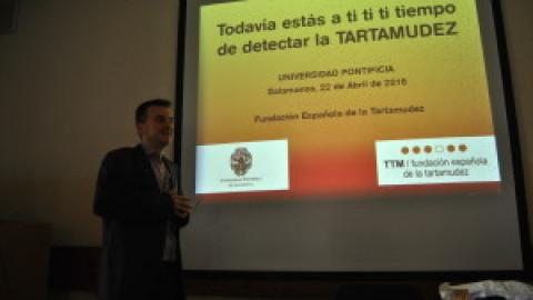 Charla 22 de Abril en la Universidad Pontificia de Salamanca