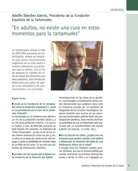Entrevista del Instituto Profesional de Estudios de la Salud