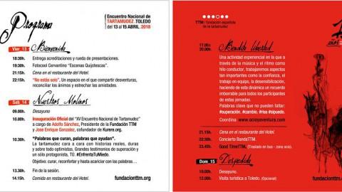 Programa XV Encuentro Toledo